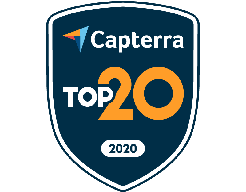 Capterra Top 20 for Legal Case Management Apr-20