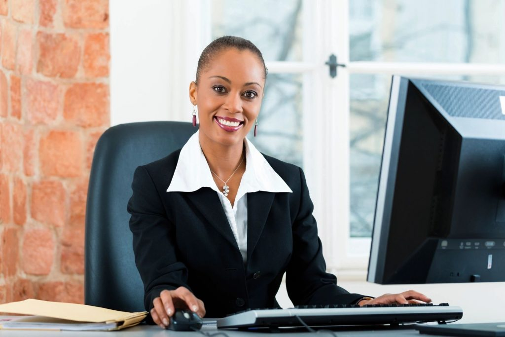 personal injury lawyer working